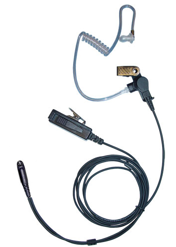 two wire palm mic for Motorola GP344