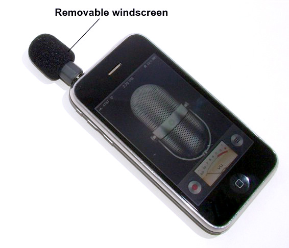 Mini Mono Mic for blackberry