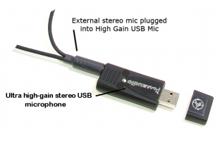 usb mic High Gain