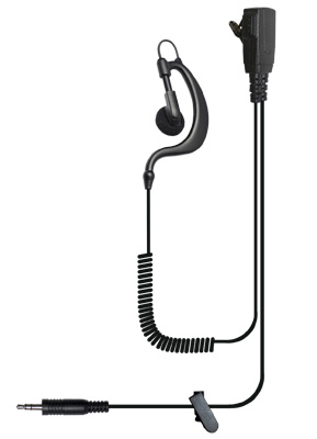 Bodyguard earpiece with 3.5mm connector