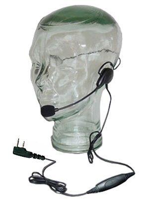 Razor Lightweight Headset for Icom F4G