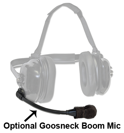 TITAN - flexboom Radio Headset for Hytera Z1p